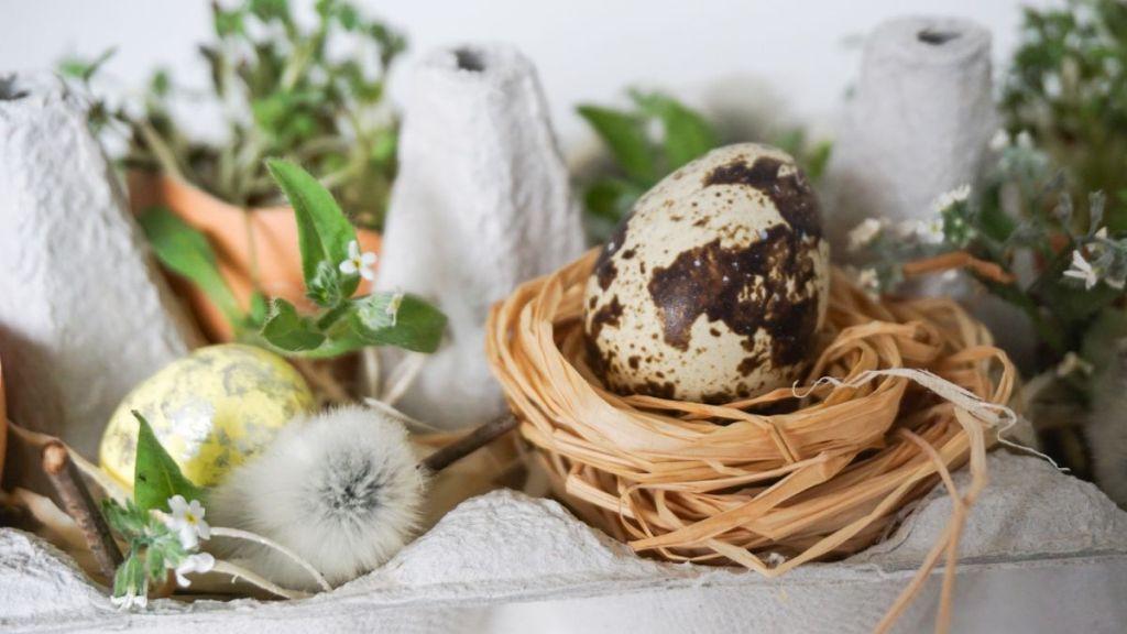 DIY Wielkanocna ozdoba na stół