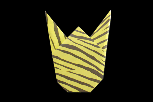 This Decorative Demon Mask Is Perfect For Devil Worshipping Origami Enthusiasts And Easy Kids