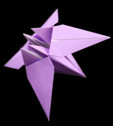 How To Make An Origami Flower Easy Instructions And Diagram