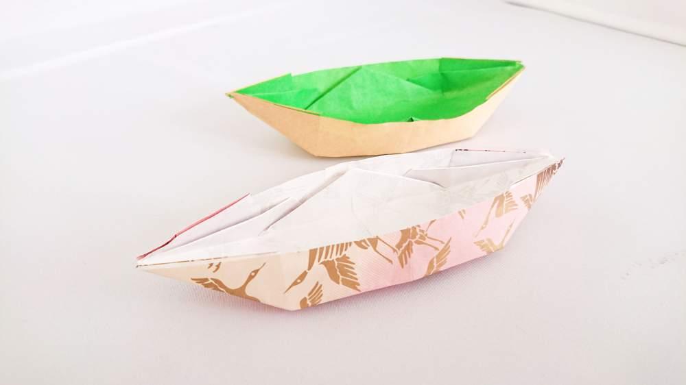 折り紙で作る!船・ボートの折り方・作り方