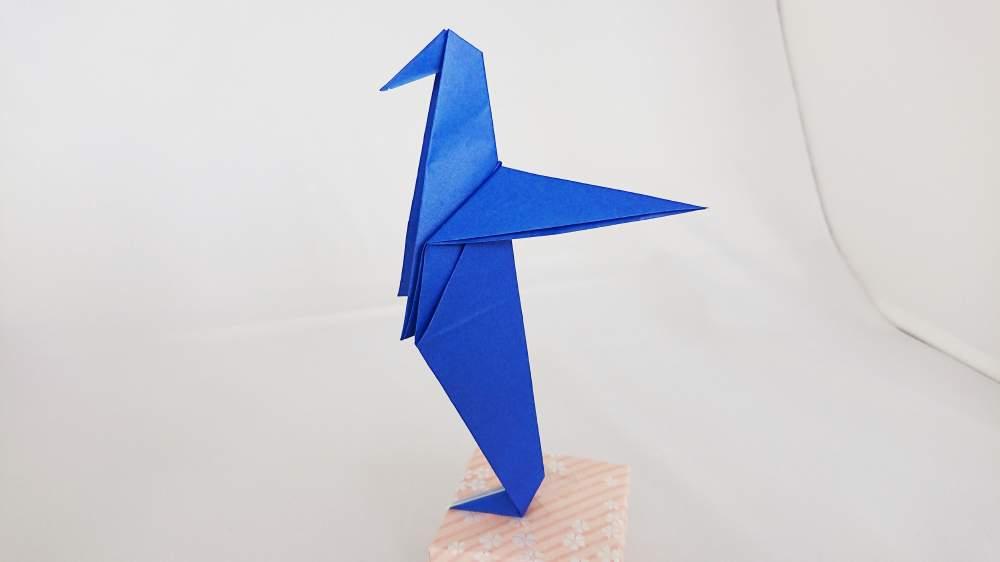 簡単カワイイ!『ペンギン』の折り紙の折り方・作り方