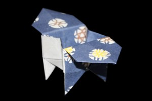 Paper Box | Easy origami instructions and diagram