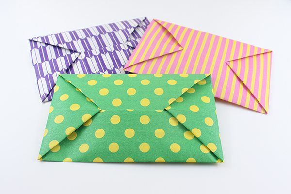 Two Easy Foldable Letters | Origami envelope easy, Origami ... | 400x600