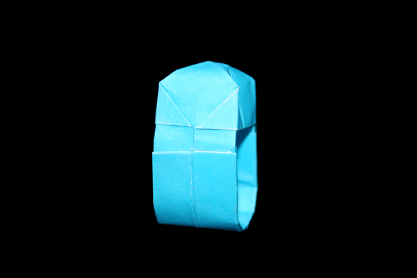 Tutorial: origami paper gem ring #diy #crafts | Origami ring ... | 400x600
