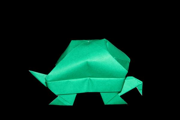 Origami childhood turtles ~ ~ ~ | Origami, Artesanato infantil ... | 400x600