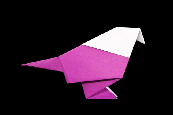 X-Wing Fighter origami diagram Easy version 3 | If you finis… | Flickr | 400x600