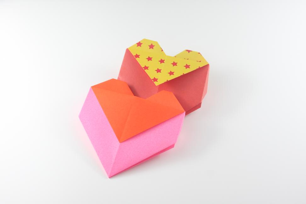 How To Make An Origami Heart Envelope Bag Paper Crafts