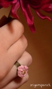 Anillo de flor