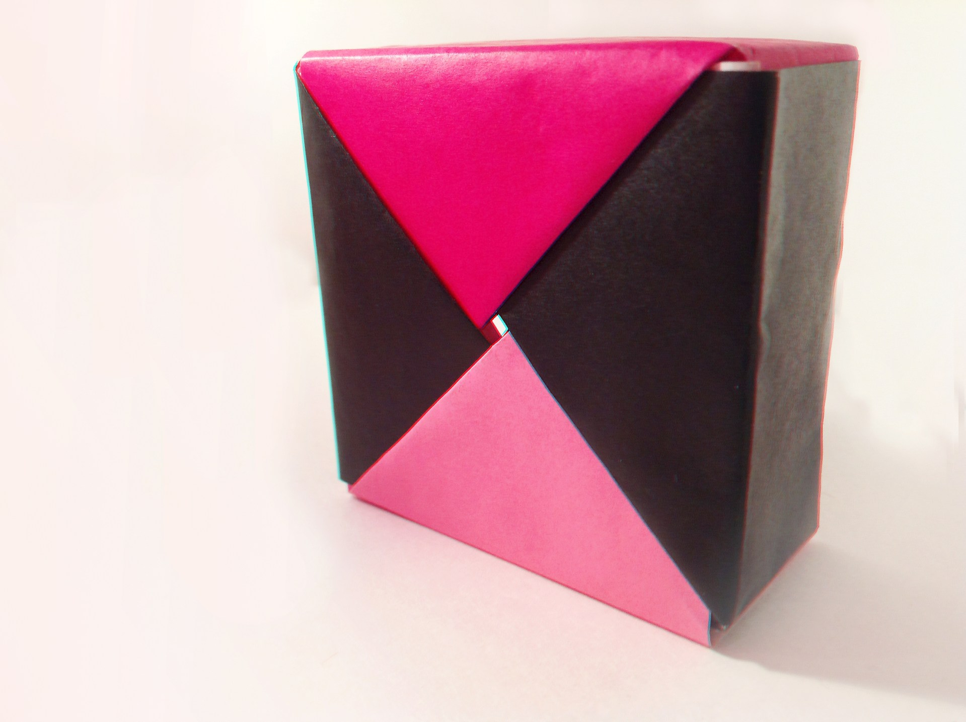 Swirled Square Origami Box by Carrie Gates