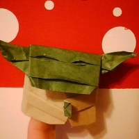 Finally! Instructions for folding an Origami Yoda like the one on the cover!