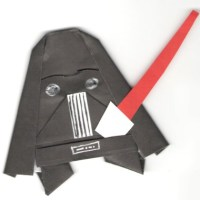 Origami Yoda II: Darth Paper Strikes Back! Folding Instructions + Contest! #starwars