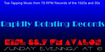 Rapidly Rotating Records Banner