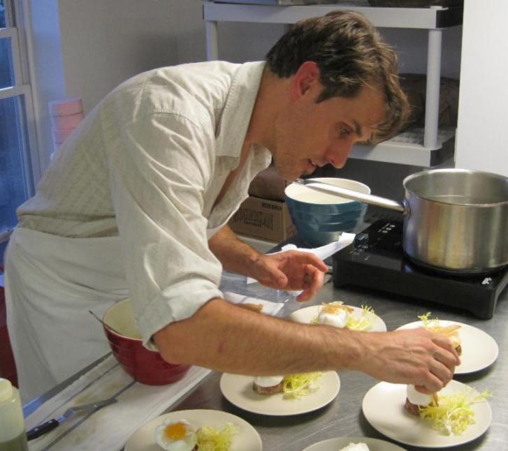 Kitchen Chef Richard Allaire Metacom Restaurant