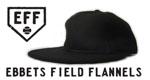エベッツフィールドフランネルズ ebbets field frannels 8panel 6panel オリジナル刺繍 newera クーパーズタウン