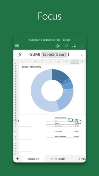 Microsoft Excel Screenshots - Original APK (3)