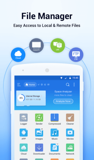 ES File Explorer Screenshots - Original APK (1)