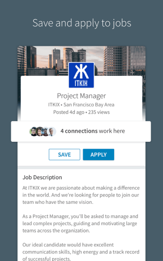 LinkedIn Screenshots - Original APK (3)
