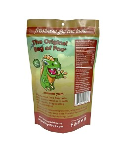 Original Bag Of Poo Product Dinosaur Back