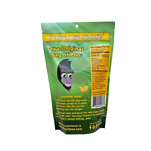 Original Bag Of Poo Product Gorilla Back