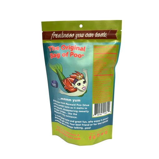 Original Bag Of Poo Product Mermaid Back