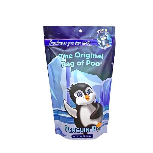 Original Bag Of Poo Product Penguin Front