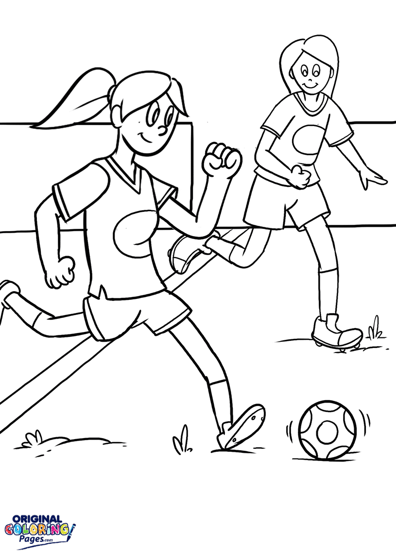 Soccer Coloring Pages Original Coloring Pages
