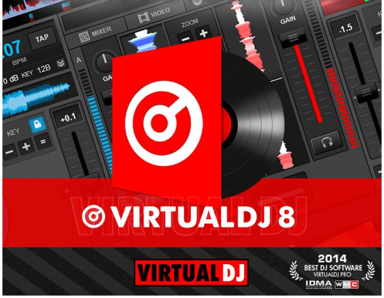 Virtual DJ 8 Pro Crack With License Key Free Download