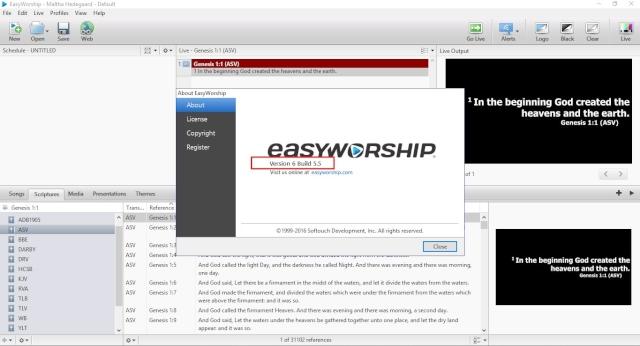 Easyworship 6