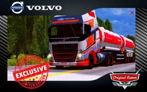 SKIN VOLVO FH16 750CV RACING - WORLD TRUCK DRIVIG SIMULATOR