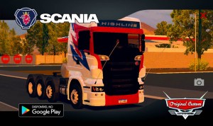 SCANIA R – WORLD TRUCK DRIVING