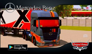 NEW ACTROS – SKINS WTDS