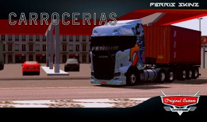 WORLD TRUCK DRIVING CONTRAINER SKIN