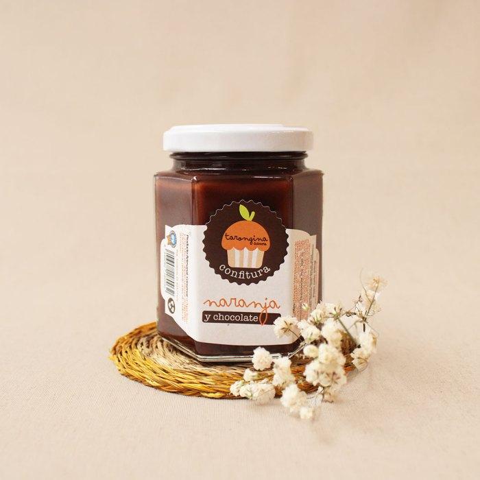 confitura de naranja y chocolate