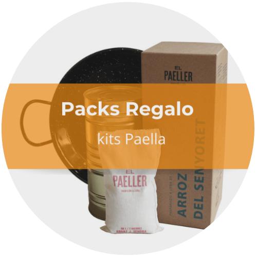 pack regalo kit paella