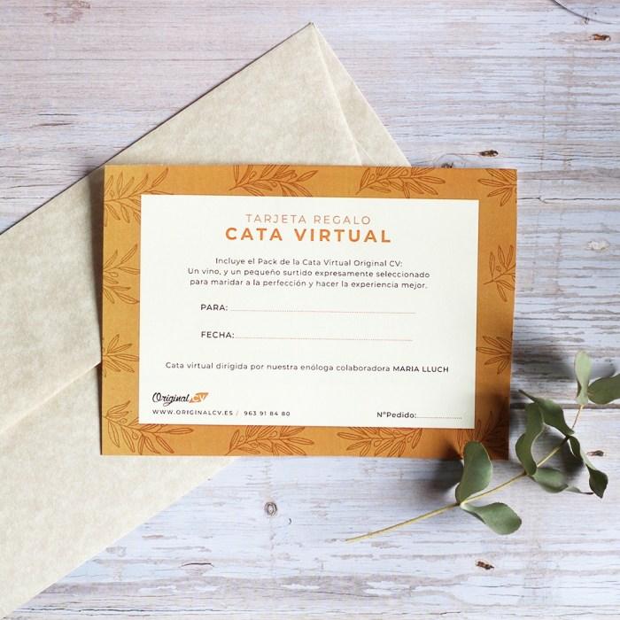 Tarjeta Regalo Cata Virtual