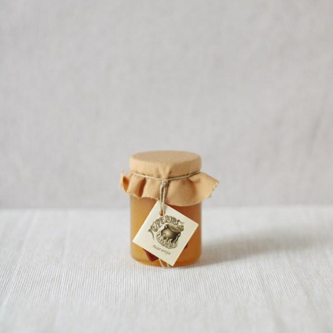Mini Mermelada Naranja El Perolet 120grs