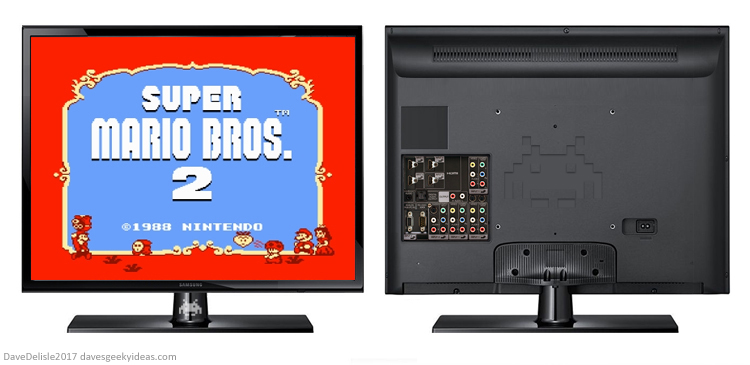 a modern 4 3 display for game consoles