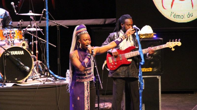 Dobet Gnahore à l'Emoi du Jazz