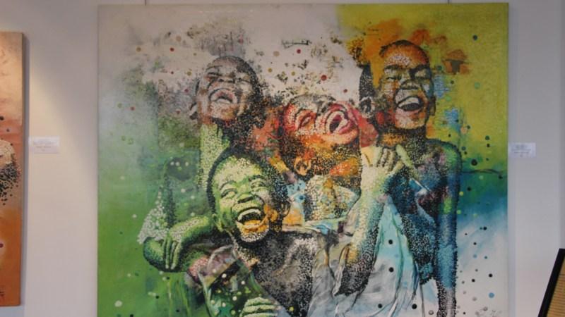 Boussou Hermann en exposition au Sofitel Hotel Ivoire