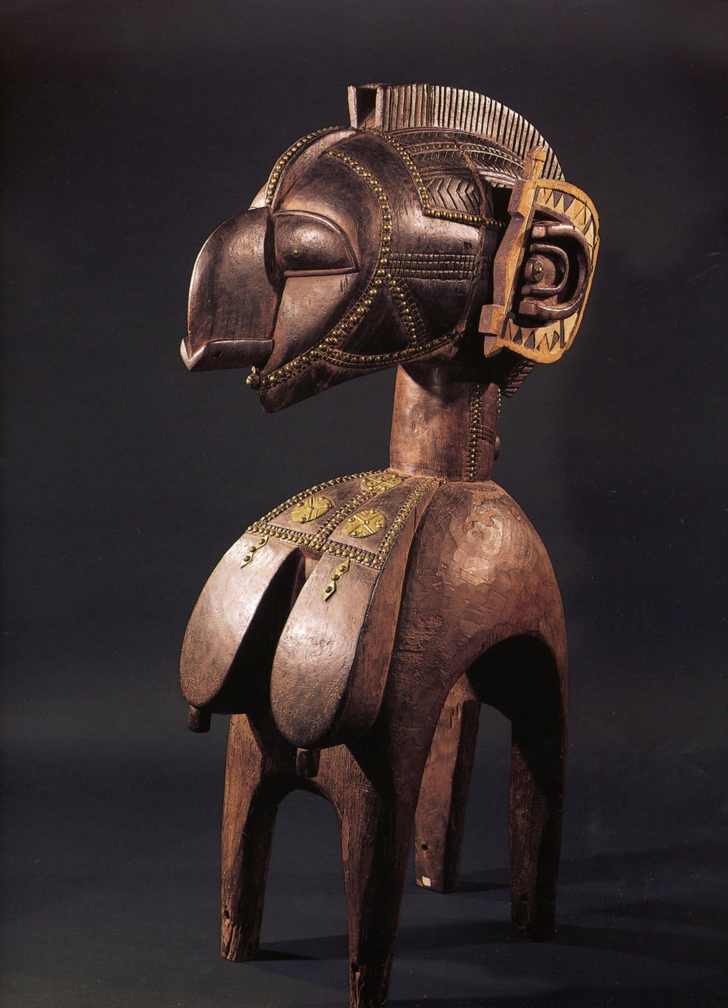 Nimba, masque baga : symbole de fertilité et fécondité