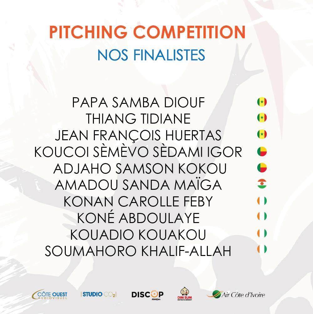 Résultat du Concours de Régional de Création de Contenus Web : deux (2) ivoiriens et un (1) nigérien dans le TOP 3