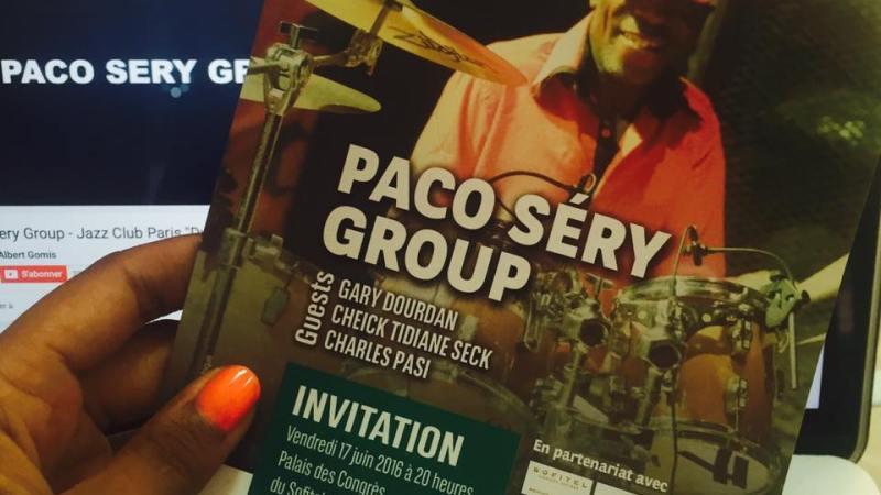 Paco Séry à Abidjan Jazz by BICICI