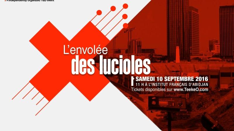 TEDxAbidjanSalon #LEnvoléeDesLucioles le 10 septembre 2016
