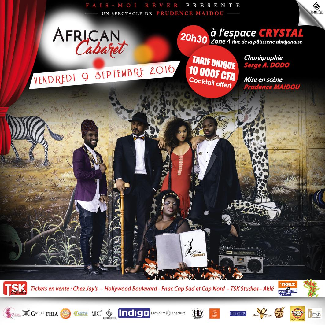 African Cabaret, un jeu entre comédie et chants