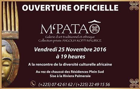 M'PATAÔ – Galerie d'art traditionnel et ethnique présentant la collection privée de Angoua Koffi Maurice