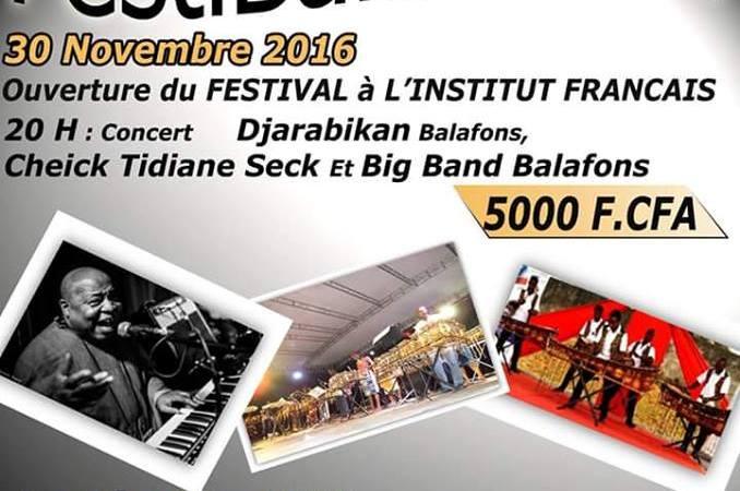 FestiBalafons#4 : Cheik Tidiane Seck accompagné de Big Band Balafons ce 30 novembre 2016 à l'IFCI