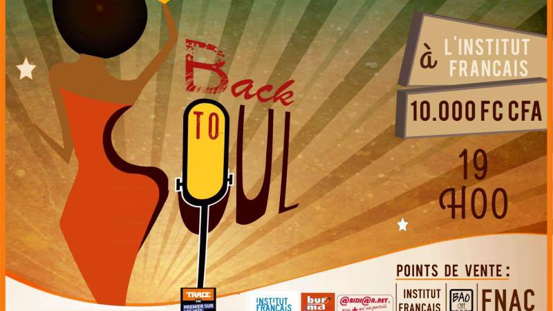 Back to Soul, de la musique pour une action – ce jeudi 1er décembre 2016 à 19h à l'Institut Français