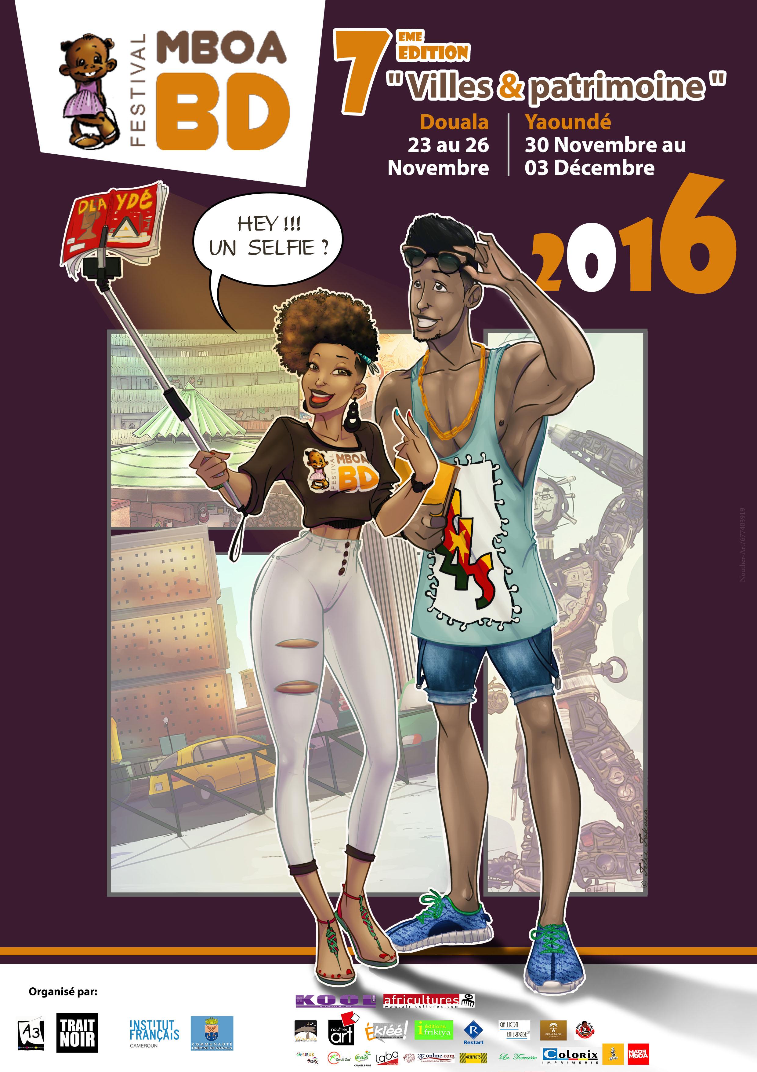 Mboa BD Festival – Festival de la Bande Dessinée du Cameroun