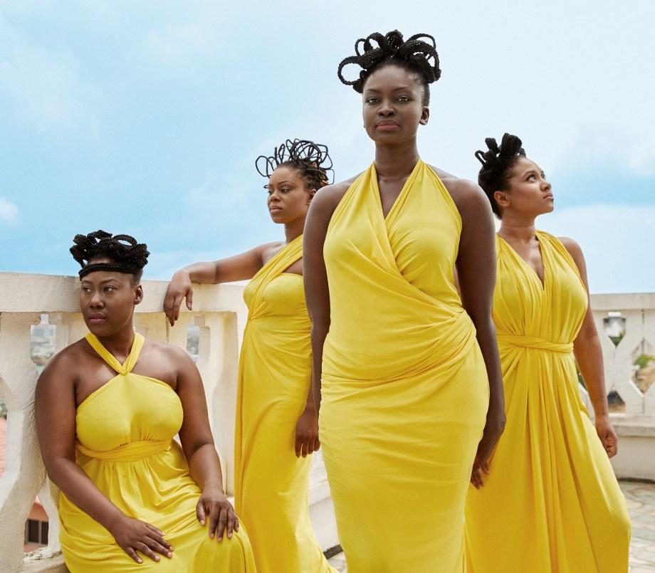 Campaign: @naturellementsalon Art Direction: @blueprintfrica Photography: @Rwolhand Models: @ayeboboniang, @sahfyredoll, @fashion_redemption, @spiogram Styling: Zak Kone of @pelebe Makeup: @divine__