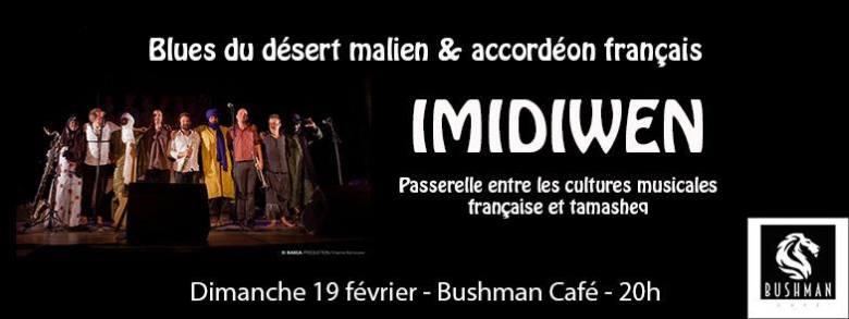 IMIDIWEN : une collaboration unique entre musiciens touaregs maliens et accordéonistes français